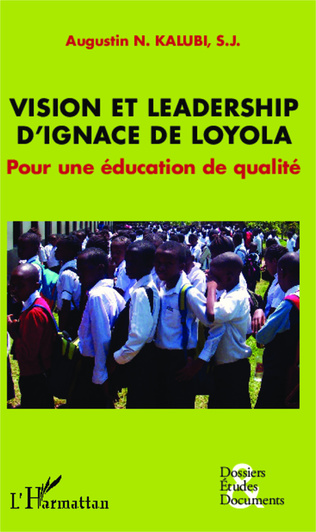 Couverture Vision et leadership d'Ignace de Loyola