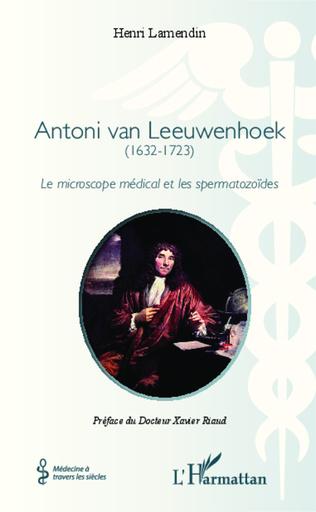 Couverture Antoni van Leeuwenhoek
