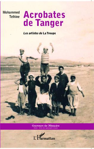 Couverture Acrobates de Tanger