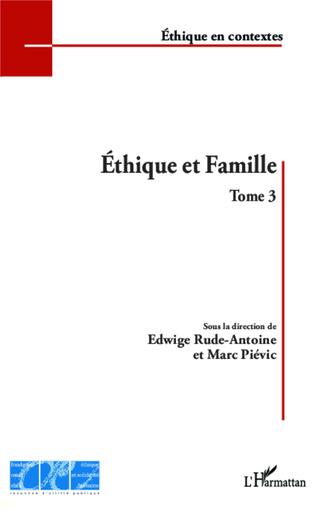 Couverture Éthique et Famille