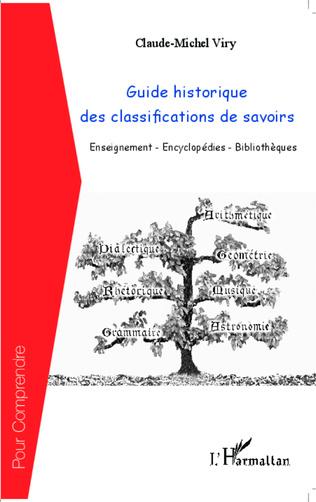 Couverture Guide historique des classifications du savoir