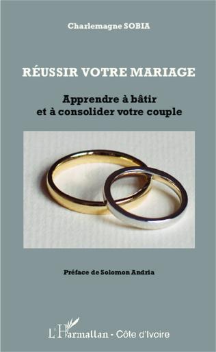 Couverture Réussir votre mariage
