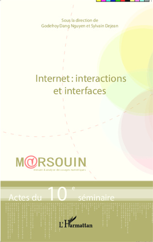 Couverture Internet : interactions et interfaces