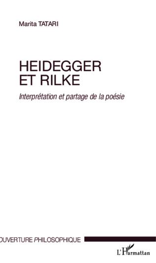 Couverture Heidegger et Rilke