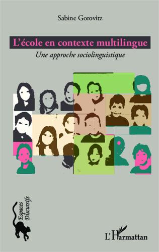 Couverture L'école en contexte multilingue