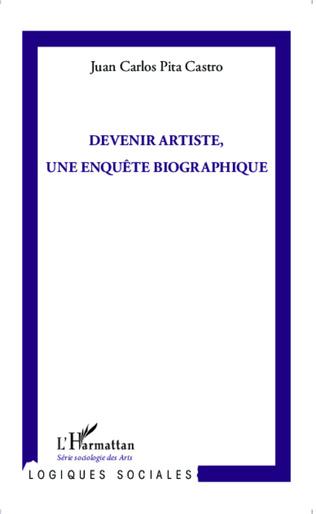 Couverture Devenir artiste, une enquête biographique
