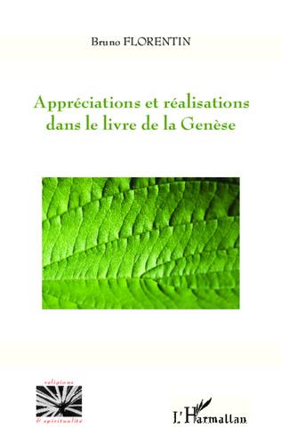 Couverture Appréciations et réalisations dans le livre de la Genèse
