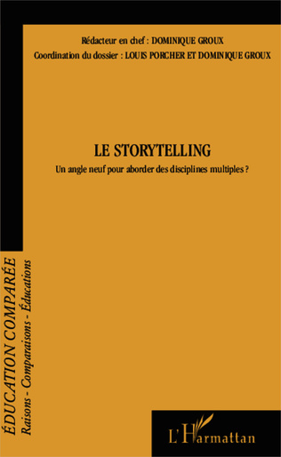 Couverture Le Storytelling