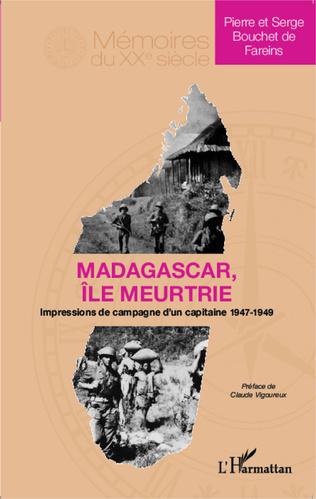 Couverture Madagascar île meurtrie