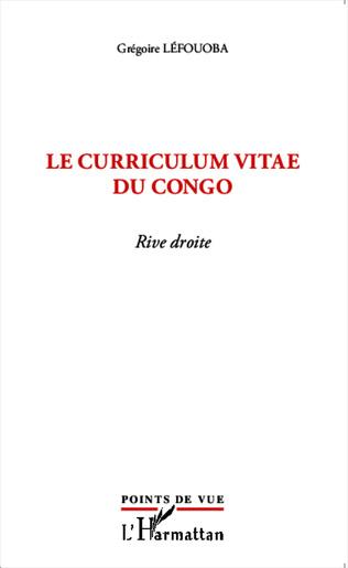 Couverture Le curriculum vitae du Congo