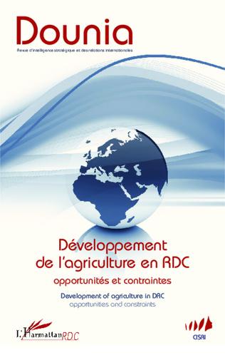 Couverture Développement de l'agriculture en RDC Opportunités et contraintes