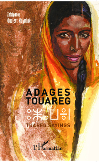 Couverture Adages touaregs