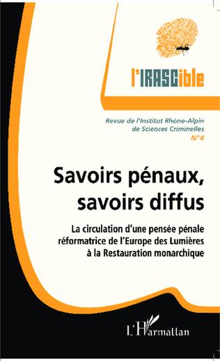 Couverture Savoirs pénaux, savoirs diffus