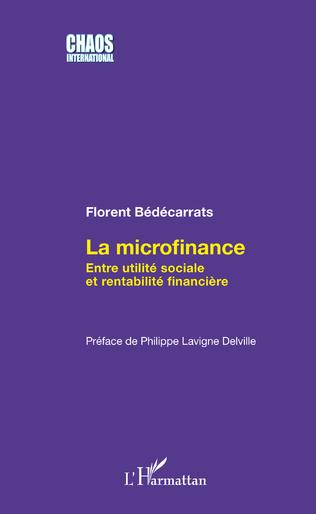 Couverture La microfinance