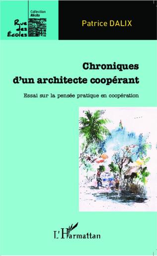 Couverture Chroniques d'un architecte coopérant