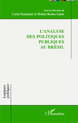 Couverture L'analyse des politiques publiques au Brésil