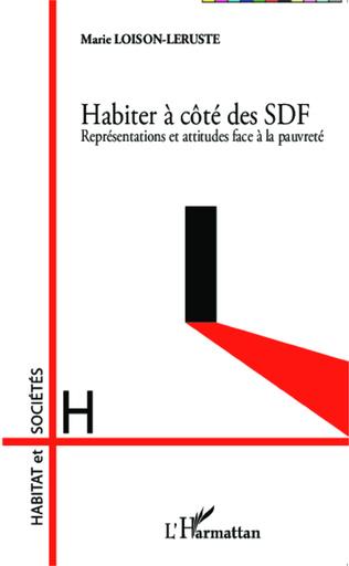 Couverture Habiter à côté des SDF