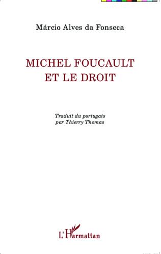 Couverture Michel Foucault et le droit