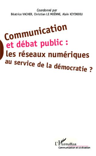 Couverture Communication et débat public :