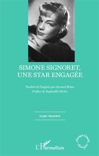 Couverture Simone Signoret, une star engagée