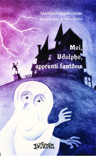 Couverture Moi, Udolpho, apprenti fantôme