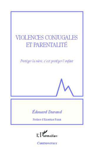 Couverture Violences conjugales et parentalité