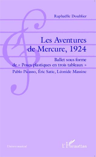 Couverture Les Aventures de Mercure, 1924