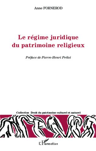 Couverture Le régime juridique du patrimoine religieux