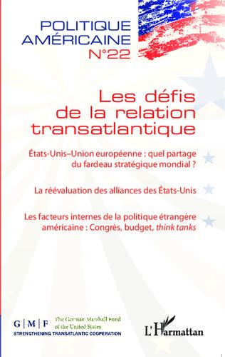 Couverture Les défis de la relation transatlantique
