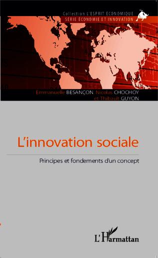 Couverture L'innovation sociale