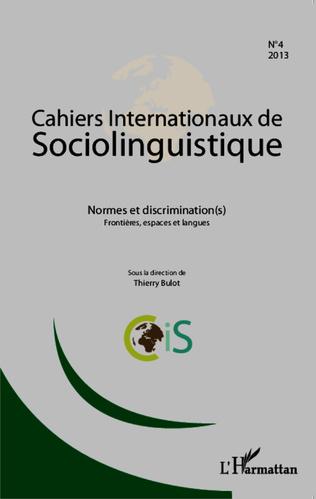 Couverture Normes et discrimination(s)
