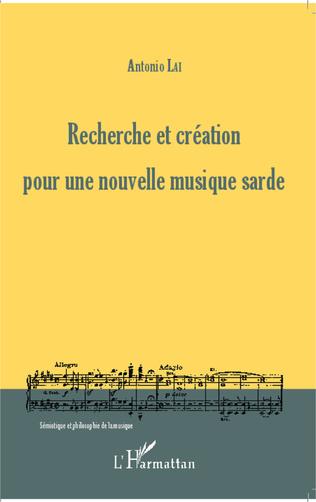 Couverture Recherche et création pour une nouvelle musique sarde