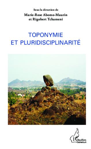 Couverture Toponymie et pluridisciplinarité