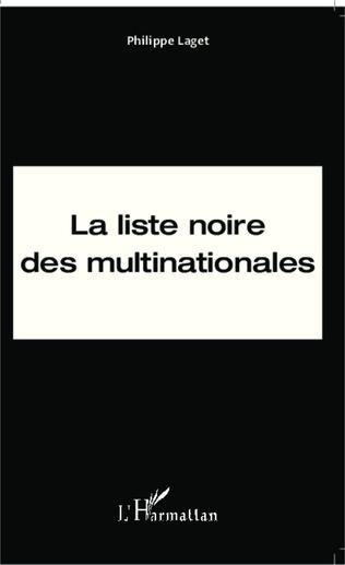 Couverture La liste noire des multinationales