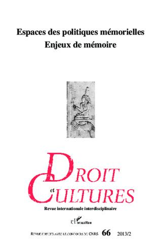 Couverture L'esclavage dans la mémoire nationale française : cadres et enjeux d'une politique mémorielle en mutation