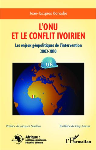 Couverture L'ONU et le conflit en Côte d'Ivoire