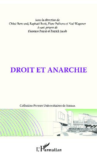 Couverture Droit et anarchie