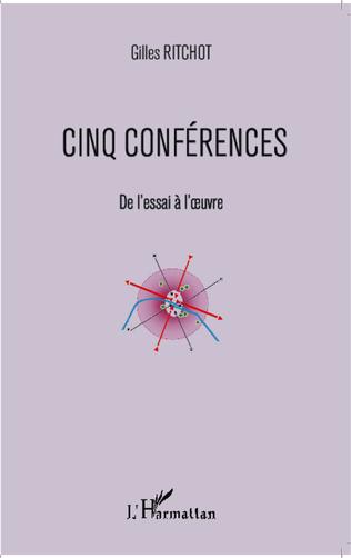 Couverture Cinq conférences