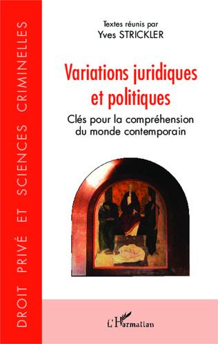 Couverture Variations juridiques et politiques