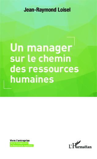 Couverture Un manager sur le chemin des ressources humaines