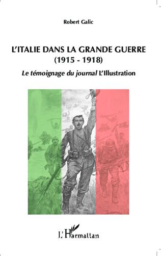 Couverture L'Italie dans la Grande Guerre (1915-1918)