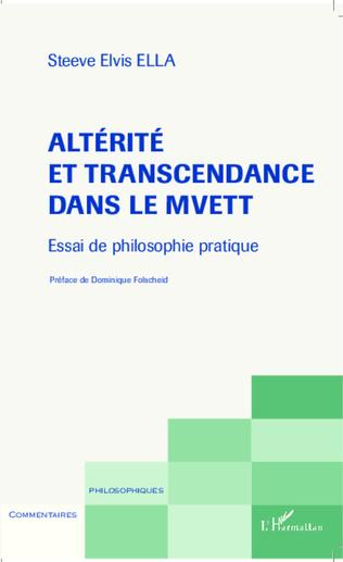 Couverture Altérité et transcendance dans le Mvett