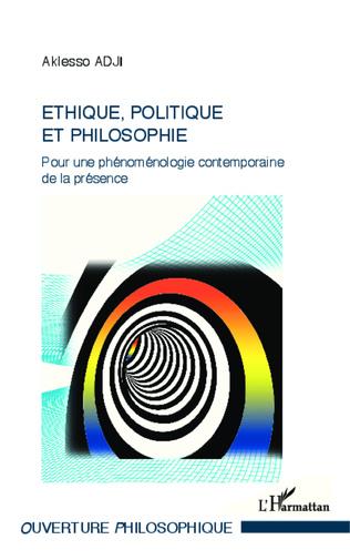 Couverture Ethique, politique et philosophie