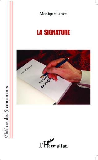Couverture La Signature