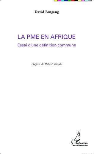 Couverture La PME en Afrique