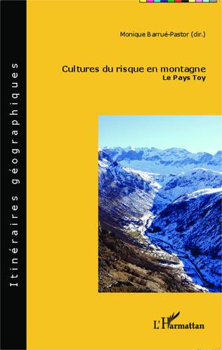 Couverture Cultures du risque en montagne