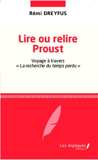 Couverture Lire ou relire Proust