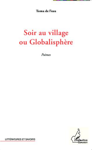 Couverture Soir au village ou Globalisphère