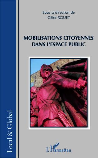 Couverture Mobilisations citoyennes dans l'espace public