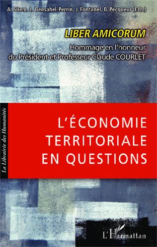 Couverture L'économie territoriale en questions